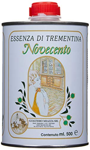Cera Novecento ESS1 Essenza di Trementina, Neutro, 500 ml