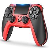 PS4 コントローラー [2020最新版] ワイヤレス 無線 Bluetooth 接続HD振動 イヤホンジャック スピーカー タッチパネルPS4 Pro/Slim対応PS4 プロコン 小型 日本取扱説明書付き