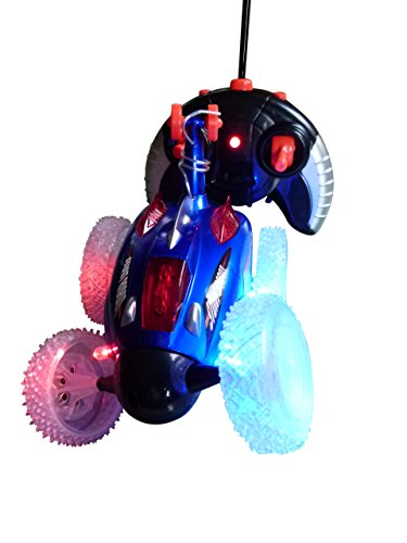 Spielzeug RC Auto, A154, Ferngesteuertes Stuntauto mit Licht, farblich sortiert