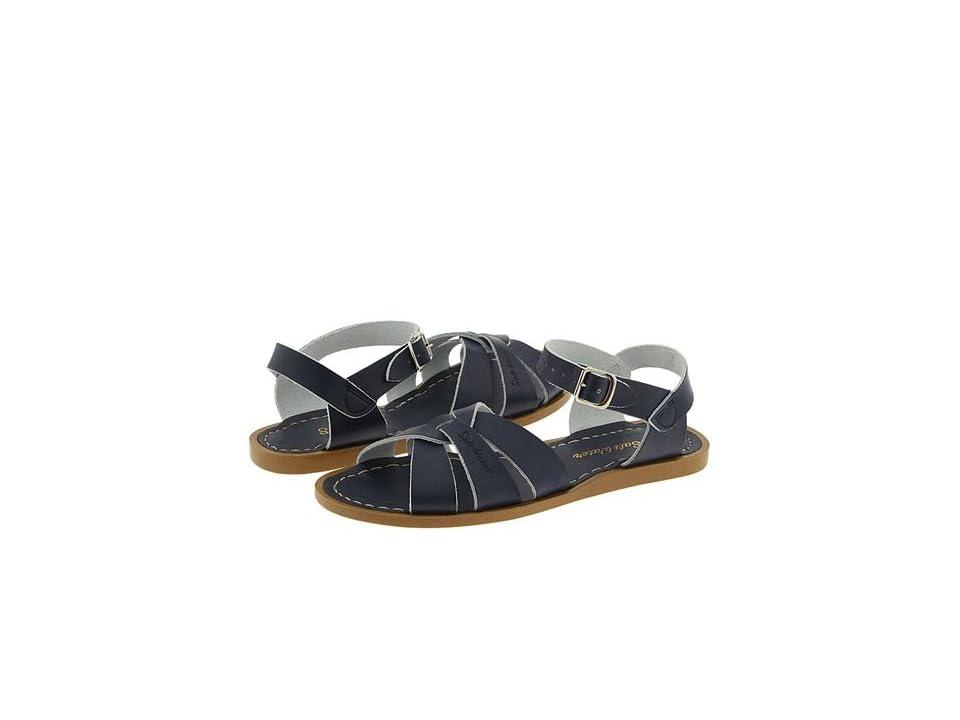 Salt Water Sandal by Hoy Shoes The Original Sandal (Big Kid/Adult) (Navy) Girls Shoes