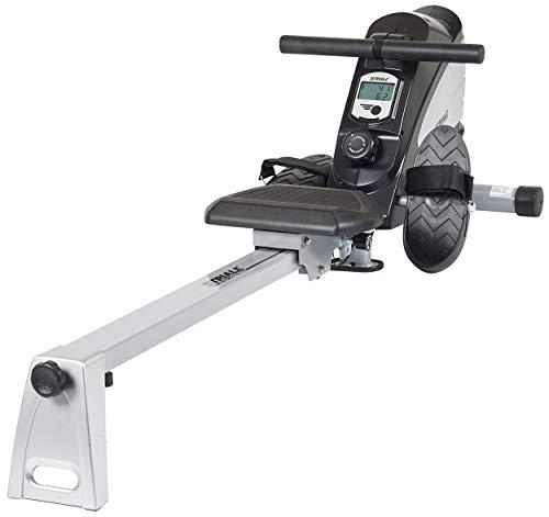 Care Fitness - Rameur d'Appartement SR-910 STRIALE - Masse d'Inertie 7kg - Résistance magnétique à Réglage Manuel - Compteur Multifonction LCD - Rameur Pliable et Ergonomique