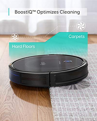 eufy by Anker, BoostIQ RoboVac 11S MAX, Robot Vacuum Cleaner, Super-Thin, 2000Pa Super-Strong Suction, Quiet, Self-Charging Robotic Vacuum Cleaner, Cleans Hard Floors to Medium-Pile Carpets, Black