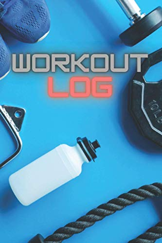 Workout Jog: Workout and Exercise Journal|Minimalistic Gym LogBook for Men|
