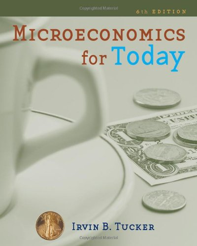 Microeconomics for Today (Available Titles Aplia)