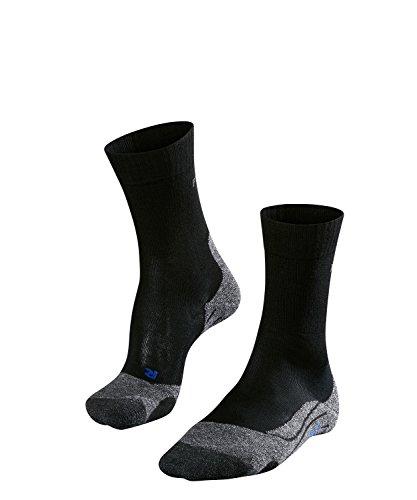 Falke ESS TK2 Cool Chaussettes de Trekking Femme, Black/Mix, FR : S (Taille Fabricant : 37-38)