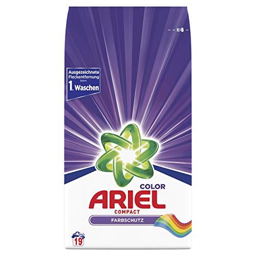 Ariel Compact Colorwaschmittel Pulver 1.425kg - 19Waschladungen