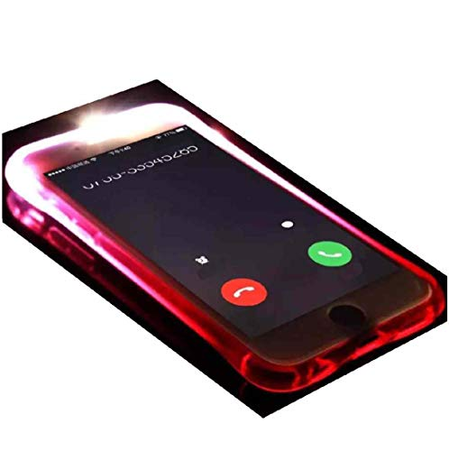 Galaxy Note8 Case, Cool Flashing Light UP To Remind Incoming Call Slim Cover by Phone's LED Refraction, TAITOU Awesome Soft TPU Thin Phone Case For Samsung Galaxy Note 8 Purple