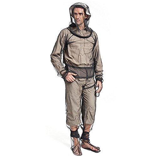 KOBWA Mosquito Suit, Leichte Anti-Moskitonetz Abweisende Kleidung, Ultimative Schutz vor Bugs, Ideal für Outdoor-Abenteuer Camping Angeln