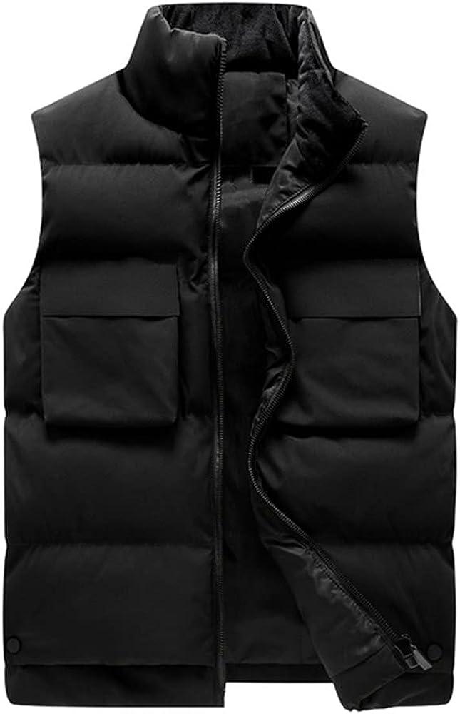 Men's Vest Autumn Winter Sleeveless Large Windproof Vest Couple