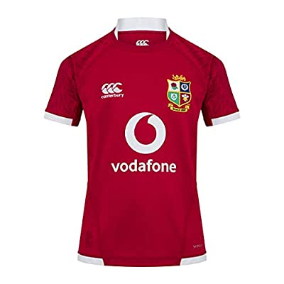 Canterbury of New Zealand Kid's British and Irish Lions Pro Jersey, Tango Red, 14 from Canterbury