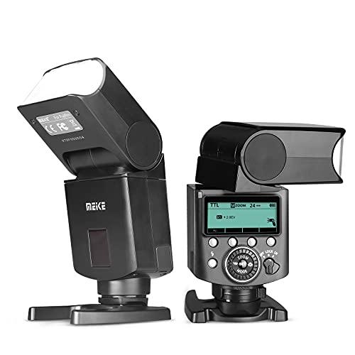 Meike MK420F TTL Li-ion Battery Camera Flash Speedlite with LCD Display for Fujifilm X...