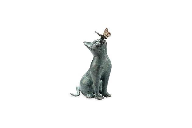 Best cat statues for garden | Amazon com