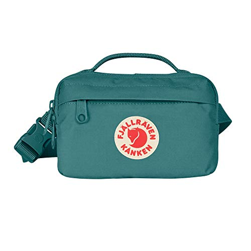 Fjallraven, Kanken Hip Pack with Waist Belt for Everyday Use and Travel, Frost Green