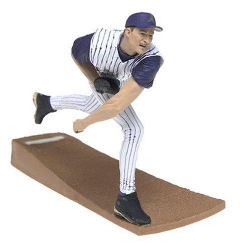 McFarlane Toys MLB Series 7 Figure: Randy Johnson in Striped Diamond Backs Uniform