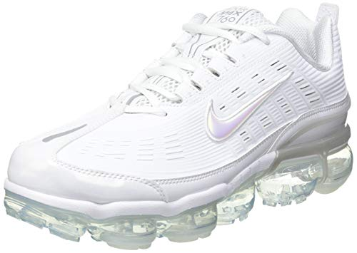Nike Herren Air Vapormax 360 Laufschuh, Weiß/Weiß-Weiß-Reflektierendes Silber, 42.5 EU