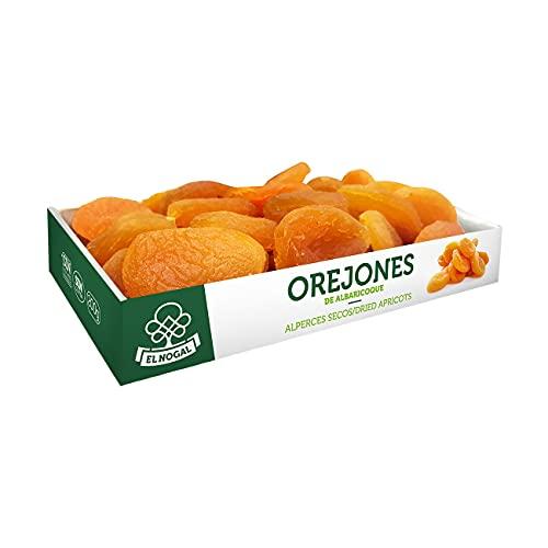El Nogal Frutas Deshidratadas Orejon de Albaricoque Bandeja, 200 G