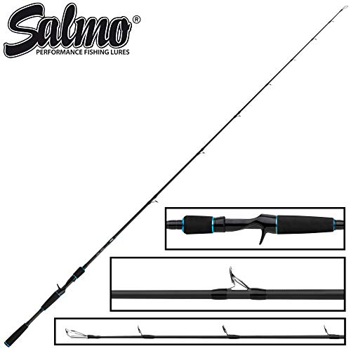 Salmo Slider Stick 1,80m 40-100g - Jerkbaitrute für Jerkbaits, Angelrute zum Hechtangeln, Spinnrute zum Spinnfischen auf Hechte