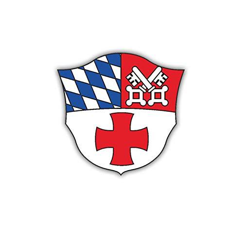 Sticker Autocollant – sanbtl 4 armoiries Bundeswehr insigne Militaire Allemagne 7 x 7 cm # a1854