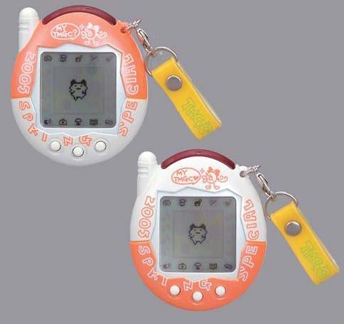 2 bomblets Set of Spring-to-Plus Tamagotchi! Paddle Mobile (Japan Import)