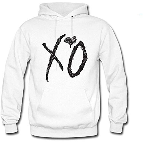 Timika Campbell Men's Pullover Hoodie Custom The Weeknd Xo Hooded Sweater