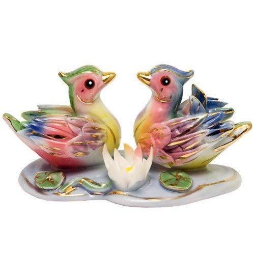 Feng Shui Mandarin Ducks - Hand Crafted and Decorated...