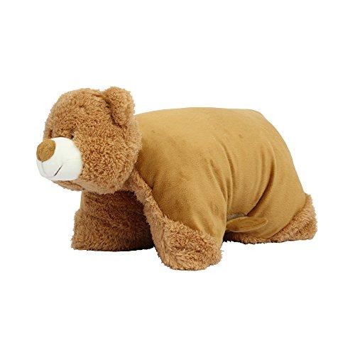 Mumbles - Cojín peluche con forma de oso (One size) (Marrón)