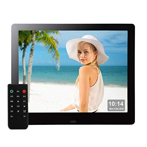 9 Inch Electronic Photo Frame 1080P IPS 4:3 Wide Angles HD USB SD for Christmas...