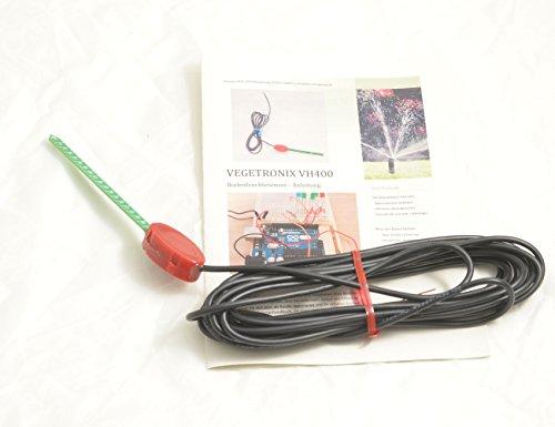 Preisvergleich Produktbild Vegetronix VH400 Bodenfeuchte Sensor 5m Kabel inkl. Infos zur Installation,  Betrieb und Programmierung