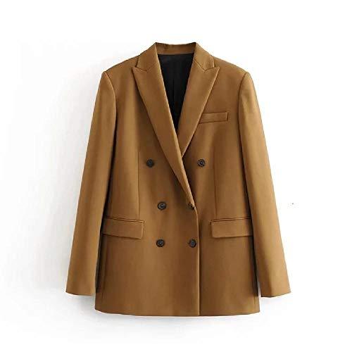 Nobrand 2020 Winter Vrouwen dubbele blazer mantel Office Ladt Slim Elegante jassen