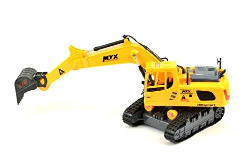 RC Auto kaufen Baufahrzeug Bild 3: RC Baufahrzeug, Bagger, 3 Kanal, Mit Akku -905-1A (ET3346)*