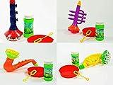 Kögler Seifenblasen Instrument 4-Fach Sortiert Klarinette, Saxophon, Trompete, Horn,