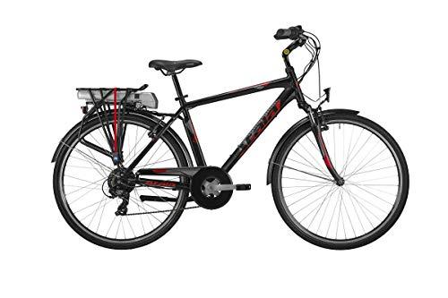 ATALA Bici ELETTRICA E-Bike Trekking Front Ruota 28 Run FS Forcella Ammortizzata 300 WH Man BAFANG 25 NM Gamma 2019