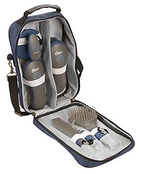 Oster - 78399-310 - Set de soins pour chevaux - 7 pièces - Bleu