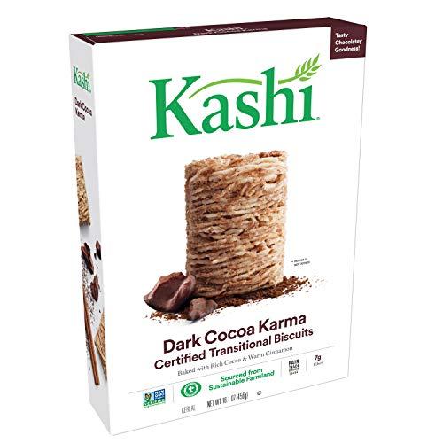 Kashi, Breakfast Cereal, Dark Cocoa Karma, Fair Trade Certified Cocoa, 16.1oz Box