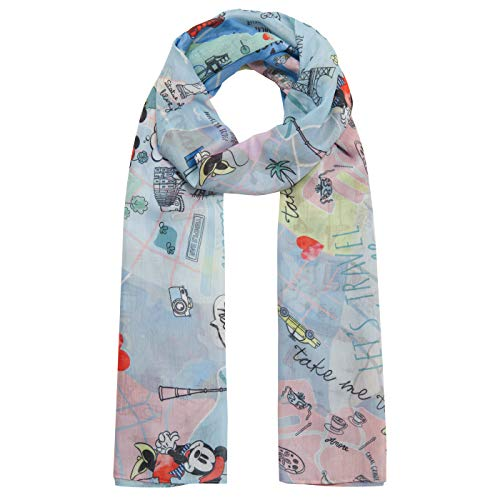 "Angenehm softer XL-Schal ""Disney Mickey Mouse"""