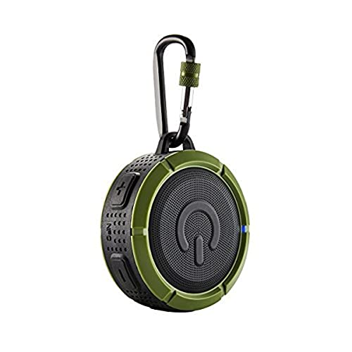 Qdos Q-Puk - Altoparlante Bluetooth 3 W verde