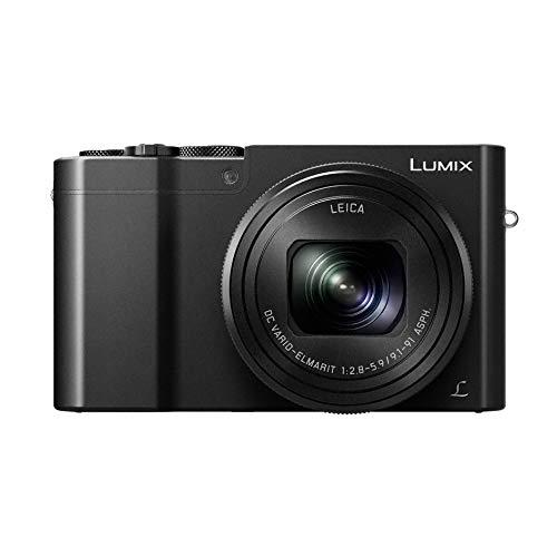 Panasonic Lumix TZ100 | Kompaktkamera Expert (großer Sensor Typ 1 Zoll 20 MP, Zoom Leica 10 x F2.8-5.9, Sucher, Touchscreen, Video 4 K, Stabilisierung), Schwarz – Französische Version