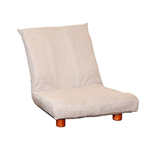 ZHANGRONG- Petit canapé unique canapé chaise paresseux chaise de lecture pliable petit appartement chaise adapté à la maison ou au bureau, design élégant -Tabouret de canapé (Couleur : Gris)