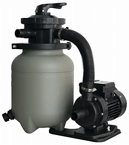 foga24 Sandfilteranlage OKU Trinidad Ø 250mm 230 Volt SPS 25 Pumpe Poolfilter