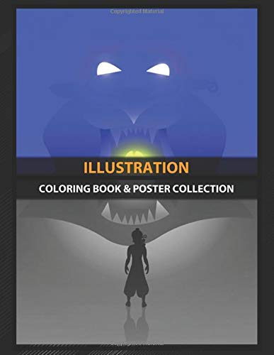 Coloring Book & Poster Collection: Illustration Cave Of Wonders Cartoons