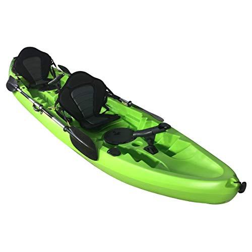Cambridge Kayaks ES, Sun Fish TÁNDEM SÓLO 2 + 1,Verde, RIGIDO