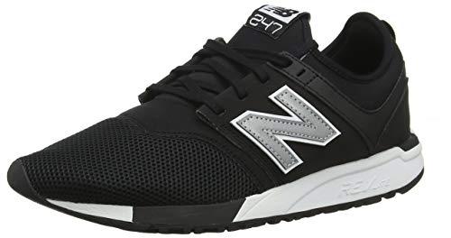 New Balance 247v1, Zapatillas Hombre, Negro (Black/Silver Red Rococo), 40 EU