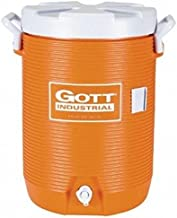GOTT 1787621 Water Coolers, 5 gal, Orange