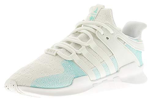 Adidas Heren EQT Support hoge sneakers, wit (wit/blauw/blauw/blauw), 44 2/3 EU