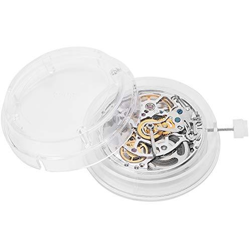 2824 Movimiento de reloj mecánico, movimiento de reloj, pieza de repuesto blanca, piezas mecánicas automáticas de alta precisión para reemplazo de reloj, bricolaje, uso doméstico, relojeros