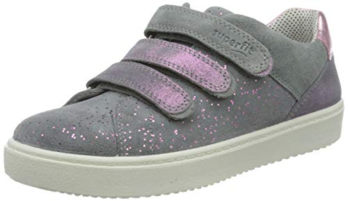 Superfit Mädchen Heaven Sneaker, Grau (Hellgrau 25), 32 EU