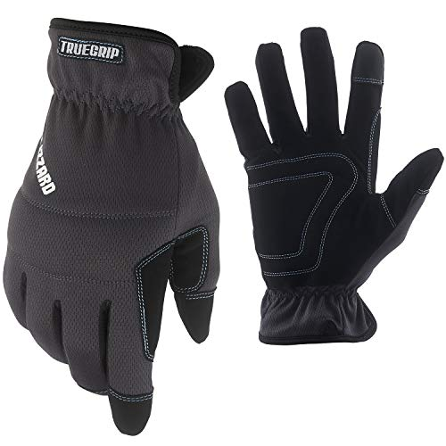 True Grip Cold Weather Blizzard Utility General Purpose and Work Gloves | 40g Thinsulate Insulation