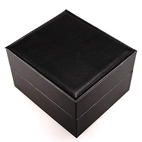 Yousiju Caja De Almacenamiento De Relojes De Slot Único para Hombres Y Mujeres. Caja De Almacenamiento Portátil.