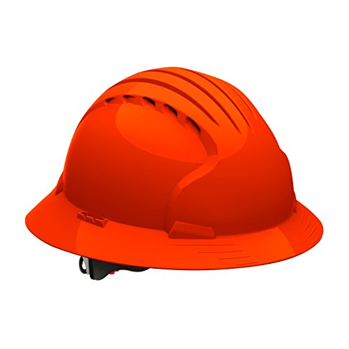 Evolution Deluxe 6161 280-EV6161-10 Full Brim Hard Hat