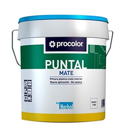 PROCOLOR - Pintura Plastica Mate Puntal Procolor 15 L